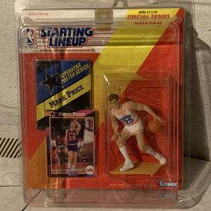 1992 Mark Price Cleveland Cavaliers Starting Lineup Figure New In Case for Sale in Euclid, OH