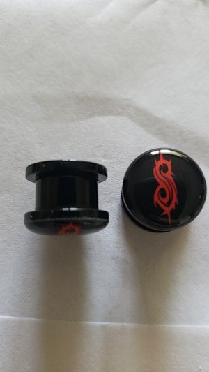 Size 1/2 Inch Gauges with Slipknot Logo for Sale in Riverton, WY