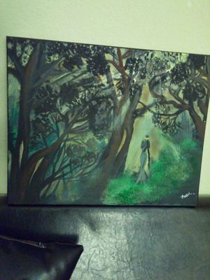 Painting 'Tribal Fortune' for Sale in Tampa, FL