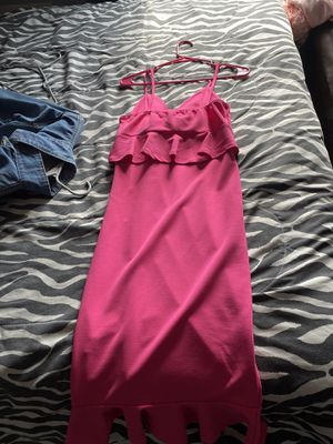 Hot pink Ruffle Dress for Sale in Lanham, MD