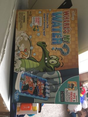 Kids games where's my water for Sale in Princeton, KY