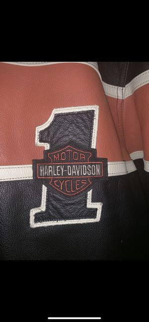 Authentic Leather Harley Davidson Jacket (XL) for Sale in Washington, DC