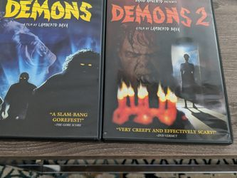 Demons 1&2 (DVD Movies Horror) for Sale in Gaithersburg,  MD