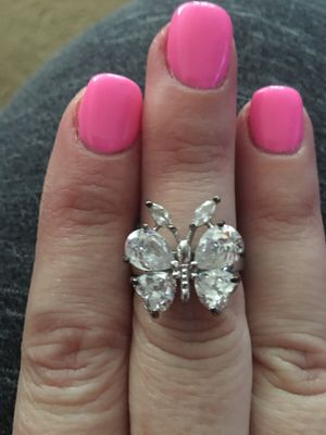 Sterling Silver Butterfly Ring for Sale in Stedman, NC