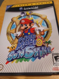 Nintendo Gamecube Game Super Mario Sunshine for Sale in Vancouver,  WA
