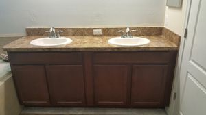 Bathroom Vanity with Sinks, Faucets & Accessories for Sale in Spring Hill, FL