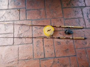 Fishing rods,2-EACH and a spool of line for Sale in Miami, FL