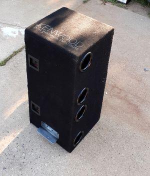 SPEAKER BOX AND AMP for Sale in Alpharetta, GA