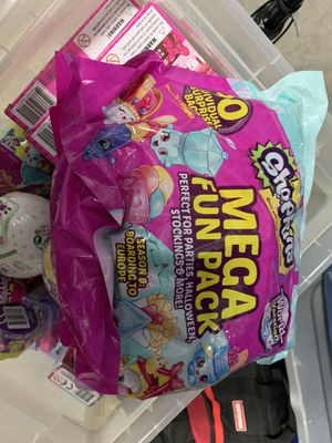 Brand new individually wrapped shopkins great for Halloween for Sale in Canby, OR