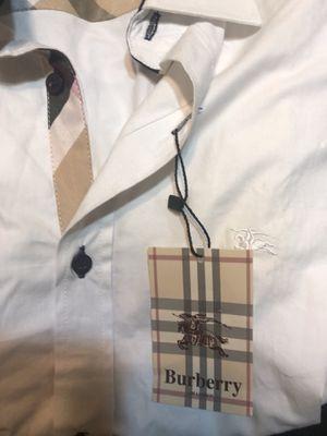Burberry men's shirts for Sale in Coronado, CA