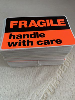 Fragile Stickers handle with care a few hundred of them for Sale in Port Richey, FL