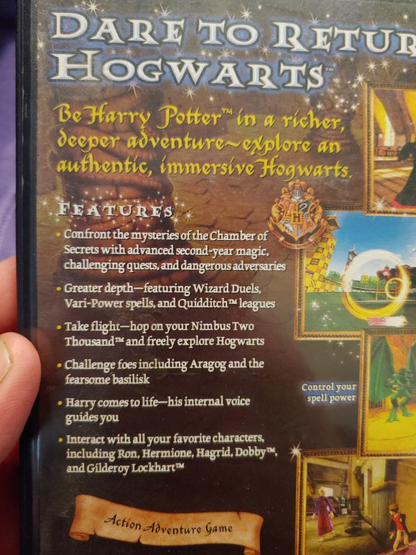Ps2 Harry Potter game