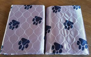 2 - Washable Pee Pads For Dogs - Reusable Pet and Puppy Training Mat - for Sale in Dyersburg, TN