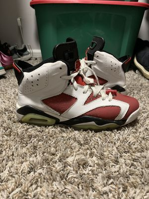 Retro Jordan 6 Carmine size 8 for Sale in Greensboro, NC