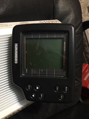 Hummingbird Wide 100 Fish Finder NO CABLE! for Sale in Leander, TX