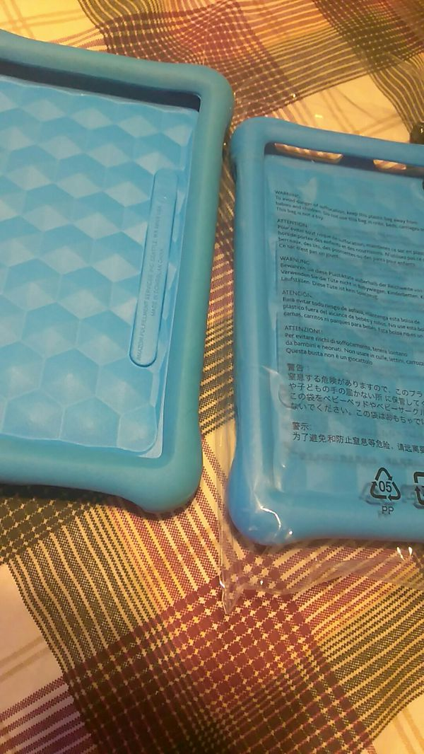 """New/Used rubber covers for tablets 7"""" inch"""