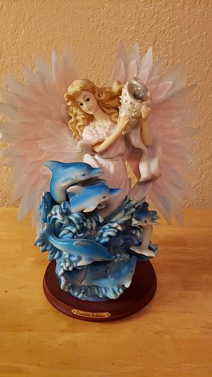 Chamlord Collection Angel Dolphin Statue for Sale in Fresno, CA