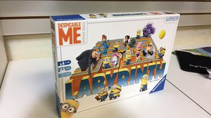 Despicable Me Labyrinth Board Game for Sale in Boca Raton, FL