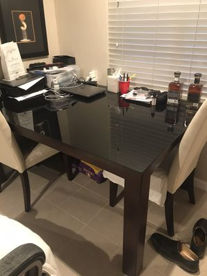 Glass top table for Sale in Atherton, CA
