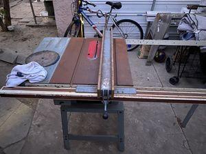Delta Industrial Table Saw for Sale in El Mirage, CA