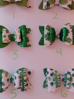 St. Patrick's Day Hair Bows for Sale in Yakima,  WA