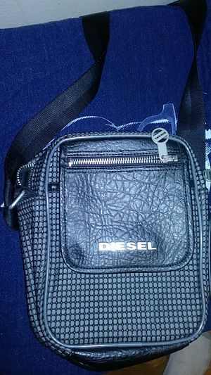 Diesel black rubber crossbody bag for Sale in Los Angeles, CA