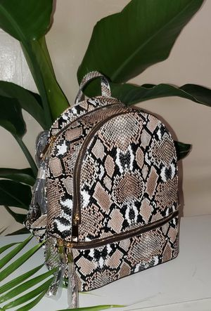 Snake Print Backpack with Wallet for Sale in Dallas, TX
