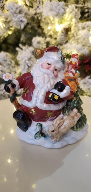 Ceramic Santa Candle/Tealight Holder for Sale in Goodyear, AZ