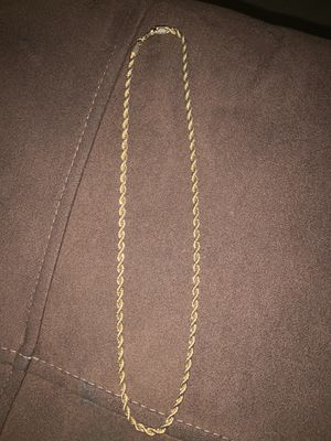 Gold rope for Sale in McDonogh, MD
