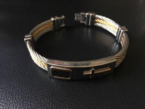 Men's silver bracelet for Sale in Brentwood, MD