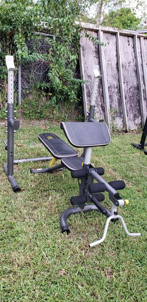 Olympic Workout Bench and Squat Rack for Sale in Miami, FL