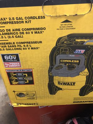 New compressor cordless for Sale in Lakewood, WA
