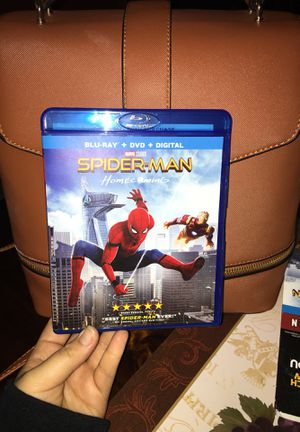 Spider-Man Homecoming Blu-ray for Sale in Bloomington, CA
