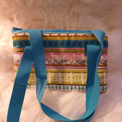 Childs striped blue bag purse for Sale in Fresno,  CA