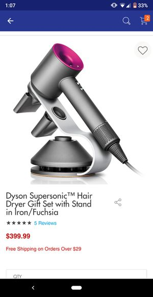 Dyson Supersonic hairdryerwith stand included for Sale in Alexandria, VA