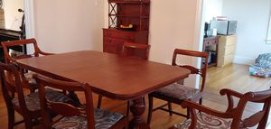 Table/ chairs and hutch- Antique for Sale in San Francisco, CA