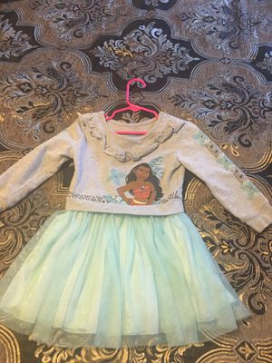 Moana girls dress size 3 for Sale in North Las Vegas, NV