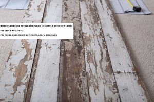 Wood planks (can be used as photography backdrop or flooring) for Sale in West Bloomfield Township, MI