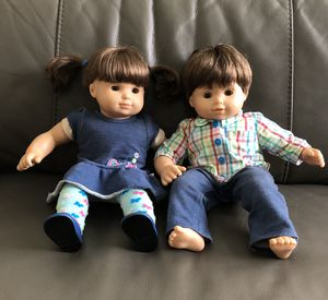 American Girl twin dolls for Sale in Hollywood, FL