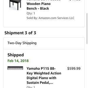 Yamaha P-115 Piano 88-key for Sale in Dallas, TX