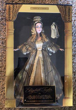 1999 Elisabeth Taylor Cleopatra Collection Barbie Doll for Sale in Portland, OR