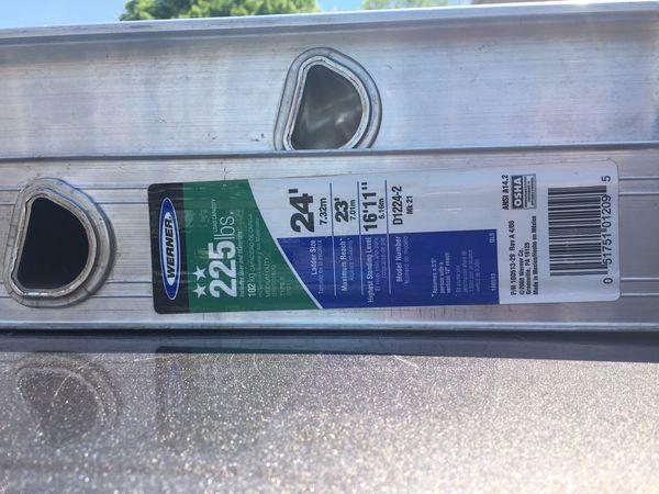 24ft werner aluminum ladder