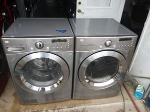 LG WASHER DRYER NICE SET for Sale in Houston, TX