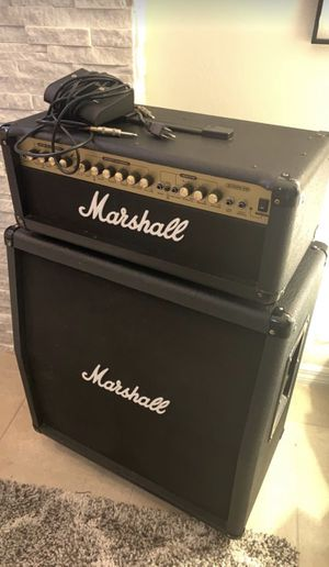 MARSHALL HALF STACK - Amp & 4x12 Cabinet - EXCELLENT CONDITION!!!! for Sale in Celebration, FL