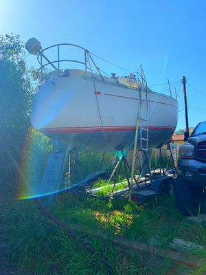 Brinton Chance 30 ft sailboat broken mast 36 how Volvo Diesel for Sale in San Bernardino, CA