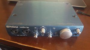 Presonus Audiobox i2 iTwo USB music recording studio interface for Sale in Beverly Hills, CA