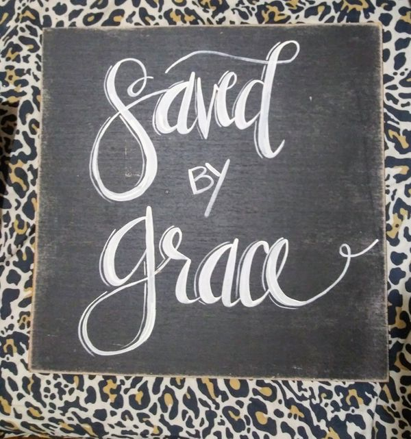 Hand Painted Christian Inspired Wall Art