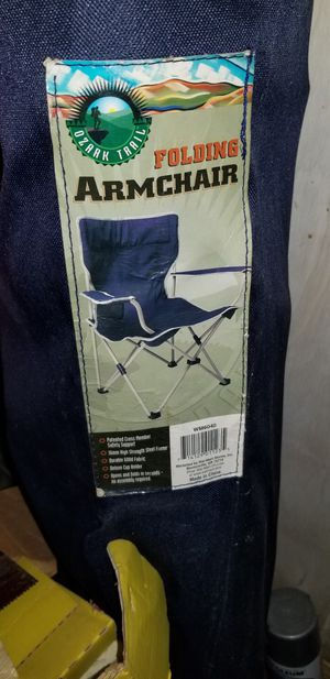 Blue Folding Armchair for Sale in Nashville, TN