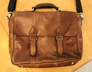 Leather satchel by The British Belt Company for Sale in Great Falls, VA
