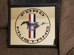 """Ford Mustang mirroed sign 15"""" x 13"""" for Sale in Glendale, AZ"""